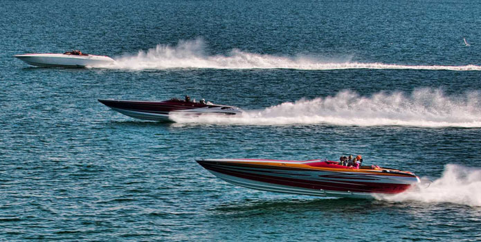 There is good and not-so-good news in the go-fast powerboat insurance world. Photo courtesy/copyright Jay Nichols/Naples Image.
