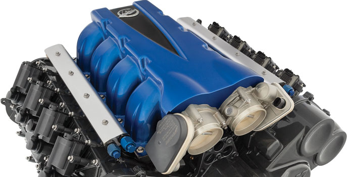 Mercur Racing's QC4v crate engine earned the company top honors at the SEMA show today.