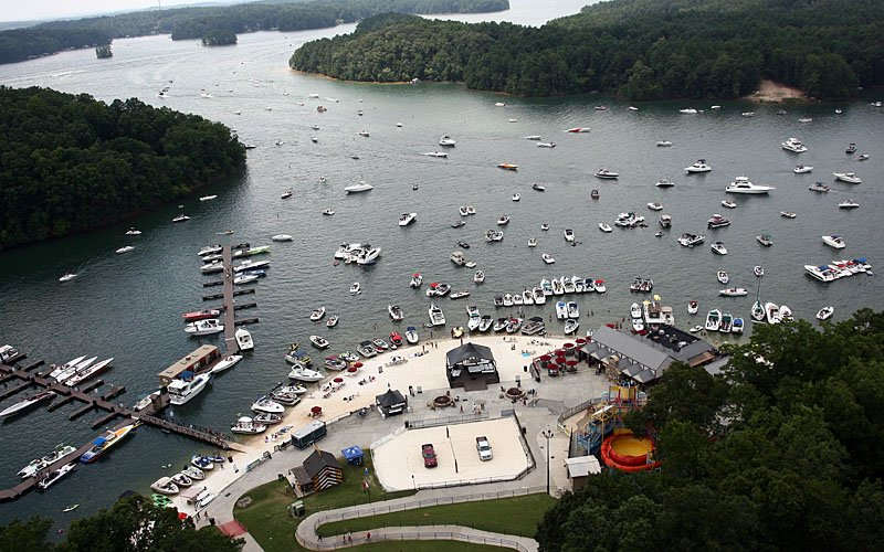 Lake Lanier Islands Resort hosted more than 280 boats for the 2013 Pirates of Lanier Poker Run.