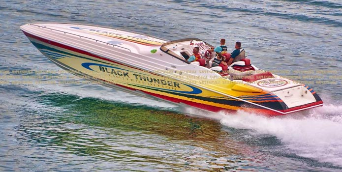 Under new ownership, Black Thunder Powerboats is back in business producing its classic 43- and 46-foot V-bottoms.