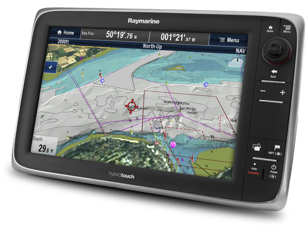 Raymarine's new e125 display