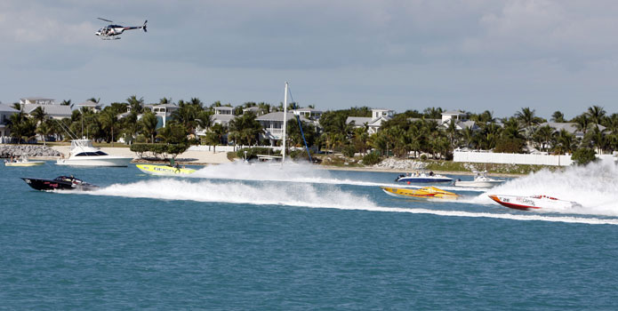 Recoomended safety changes from the invesigation reportedly will be incorporated in the next offshore raciing permit for Key West.