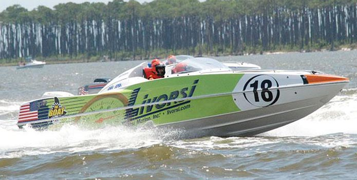 Andy Biddle and Tracy Blumenstein ran a flawless race in the Livorsi Marine-sponsored 28-footer to earn the victory in Biloxi.