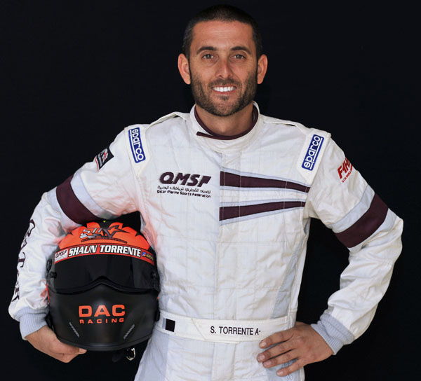 Florida native Shaun Torrente hopes to represent the Qatar Team well in his second season on the international racing circuit.