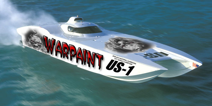 After an accident in the 2011 Key West World Championships, Team Warpaint will be returning to the racecourse soon in its new 42-foot MTI.